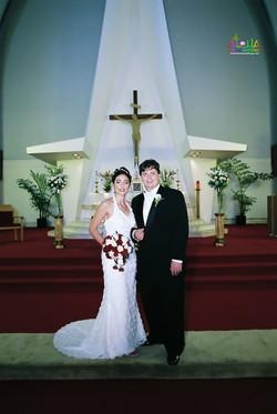 Hawaiian Church Wedding on Oahu-35
