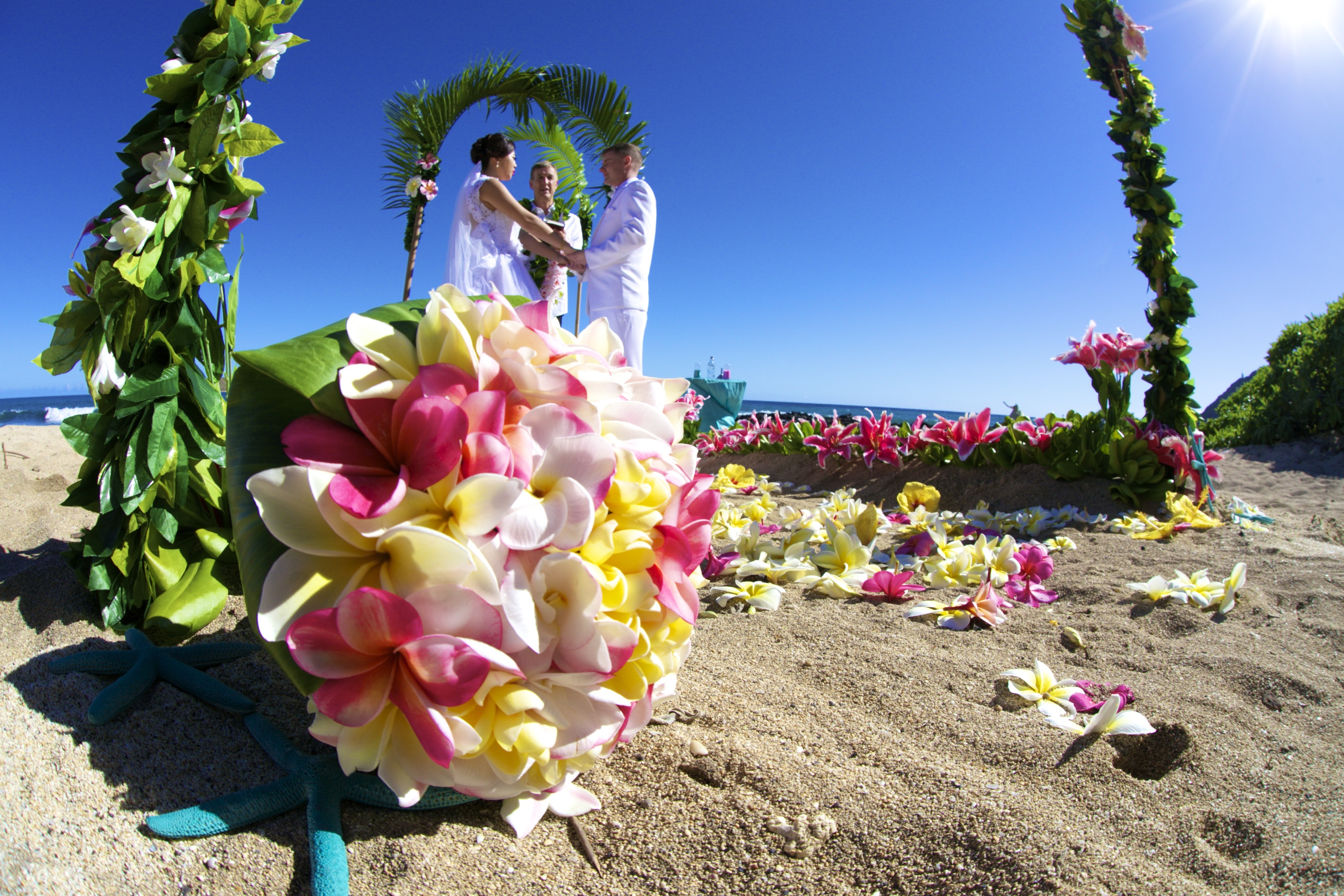 Chinese wedding in Hawaii