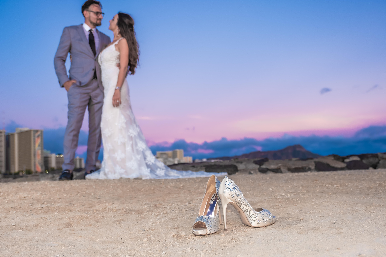 Magic island Hawaii beach wedding -25