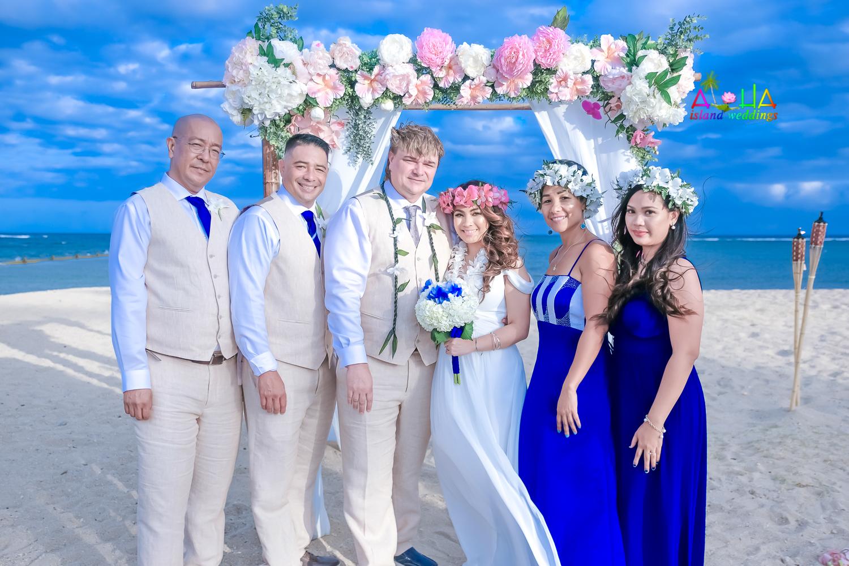 Waialae beach wedding-51