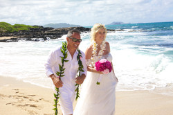 Vow Renewal in Hawaii -50