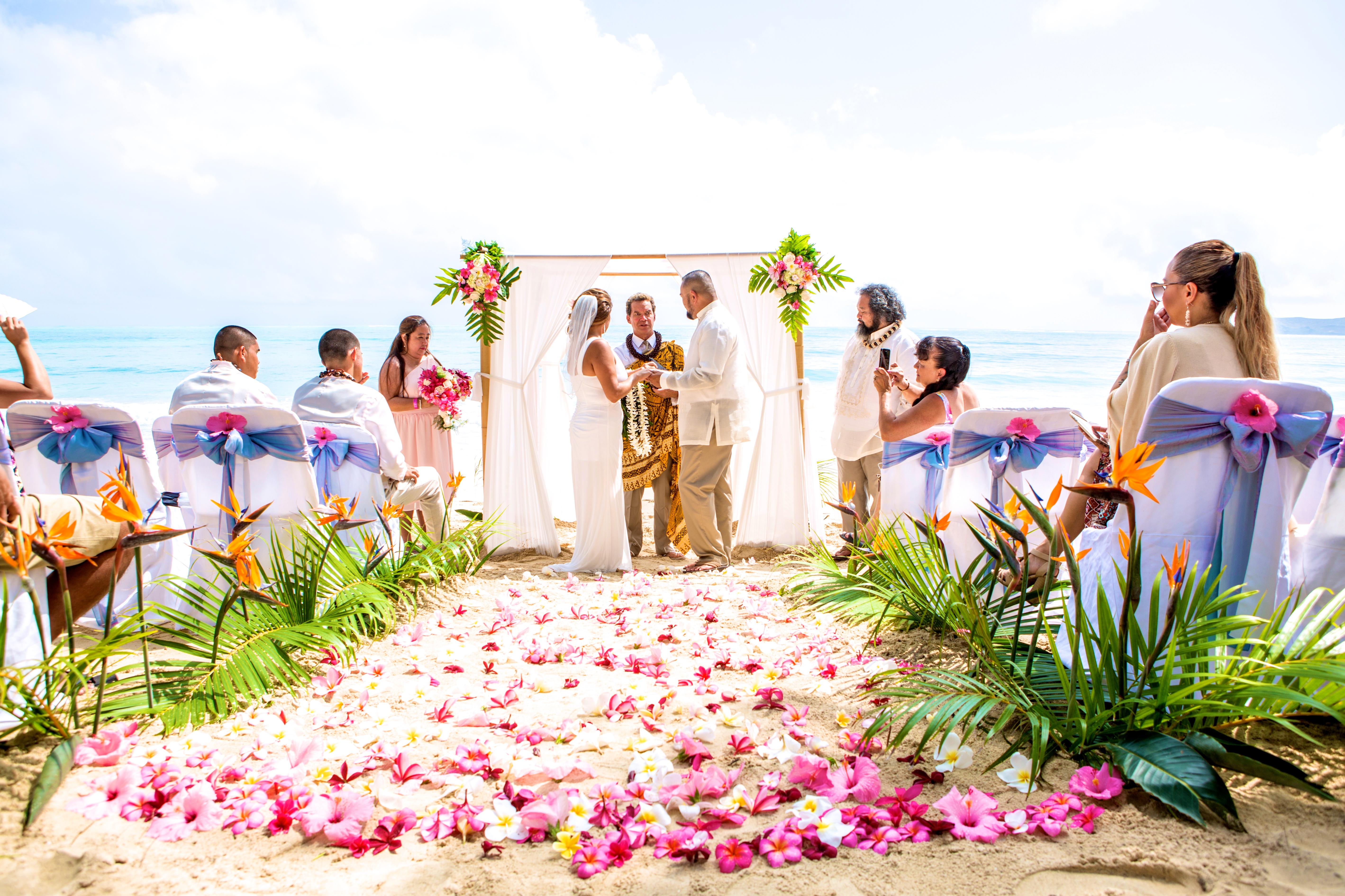 hawaii wedding ceremony -27