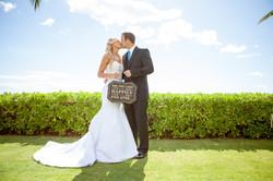Hawaii wedding paradise cove