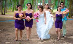 Hawaii Bridal party