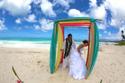 Beach Wedding in Hawaii-5