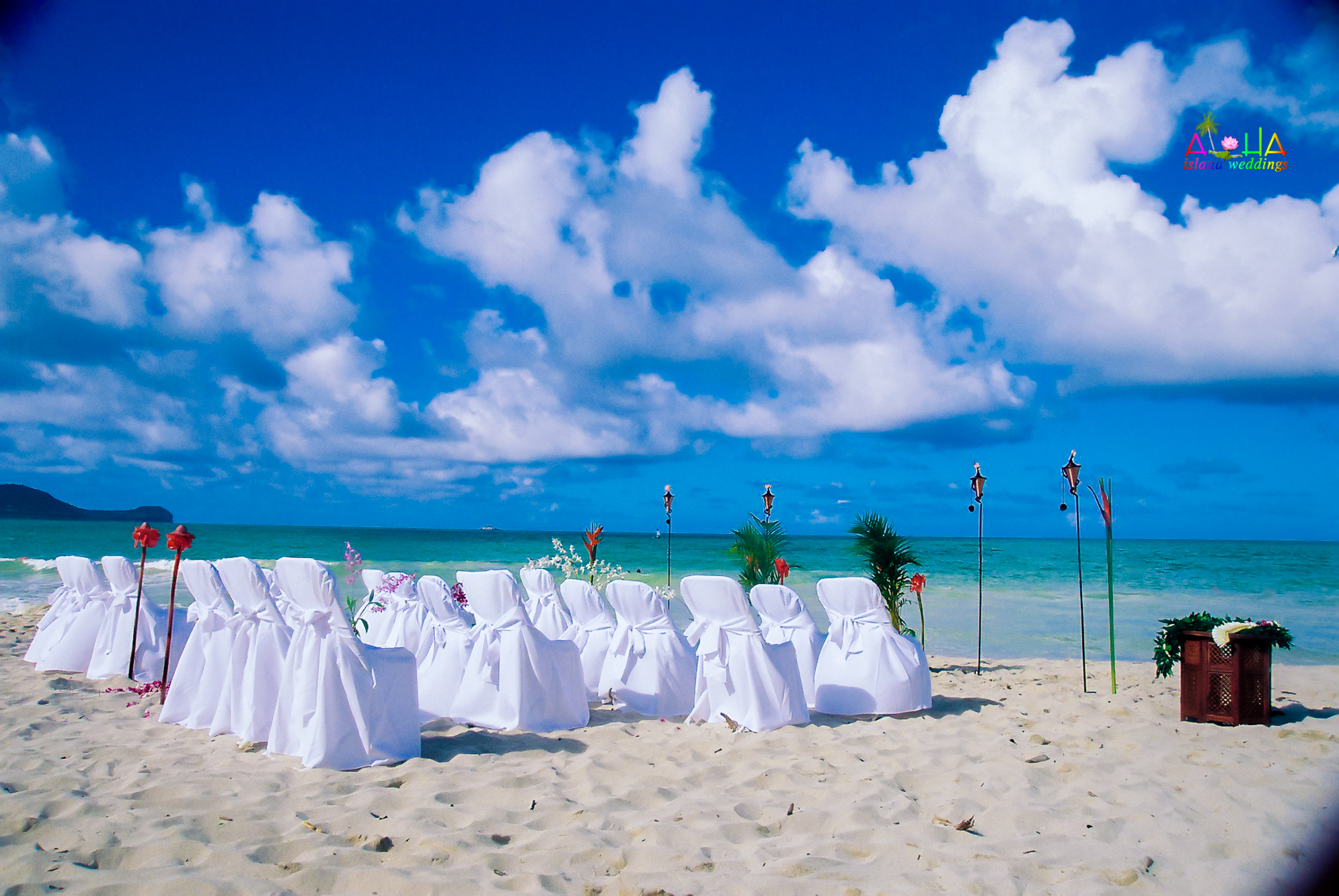 Beach wedding in Kailua-18