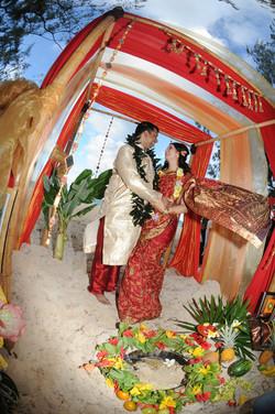 Hawaiian Indian Wedding Ceremony -47