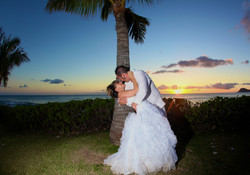 Sunset hawaii Wedding Picture -16