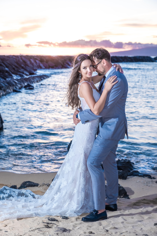 Magic island Hawaii beach wedding -26