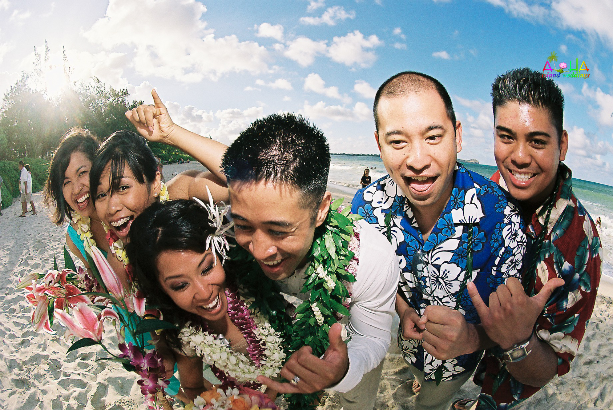 Beach wedding in Kailua-13