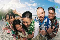 Beach wedding in Kailua-13