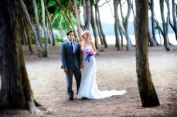 wedding In Hawaii with beautifull bride-70