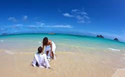 Lanikai beach wedding photos-18