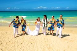 Hawaii beach wedding - lotus car 14