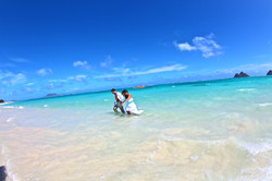 Lanikai beach wedding photos-21