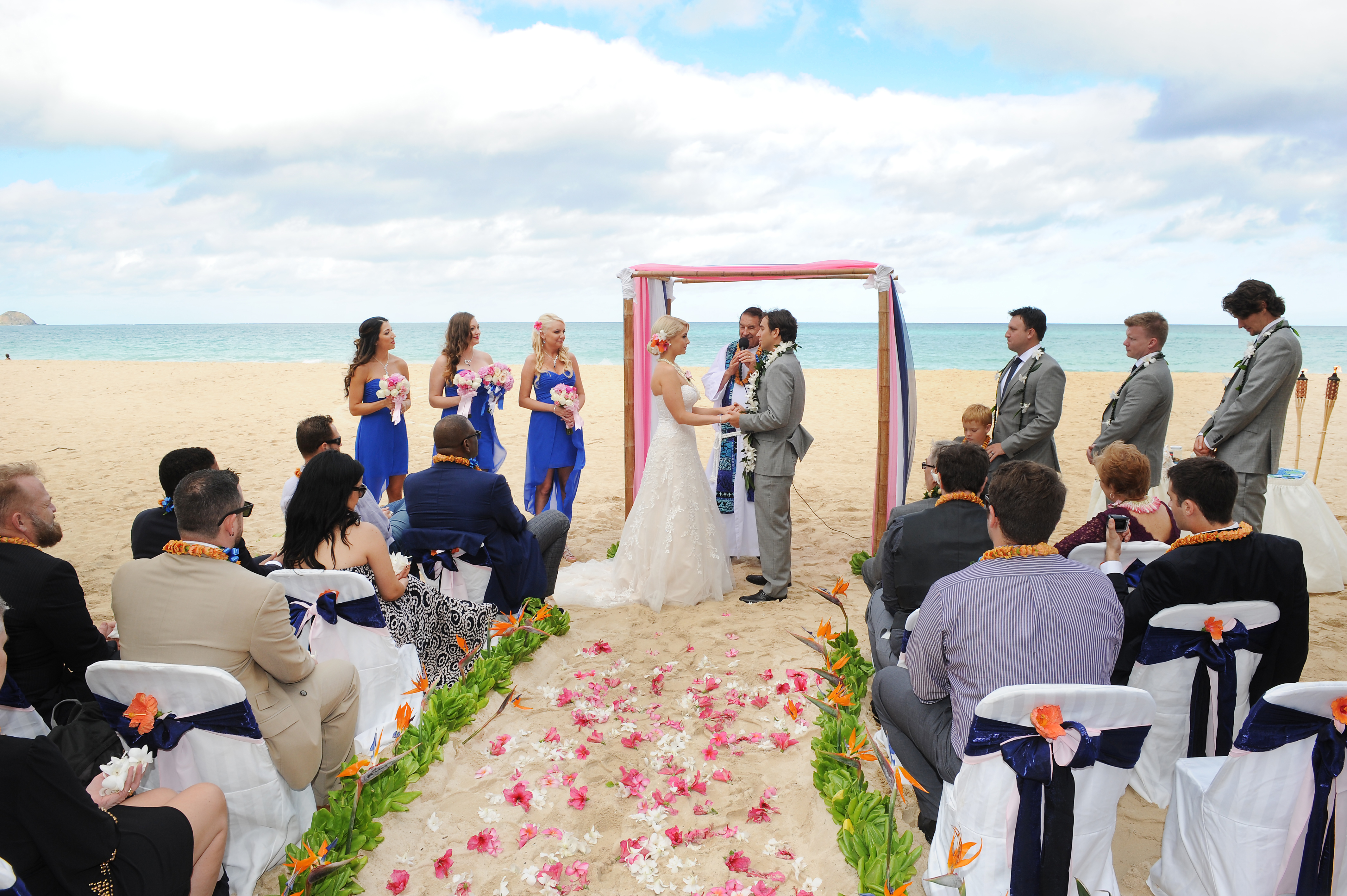 wedding In Hawaii - wedding ceremony-46