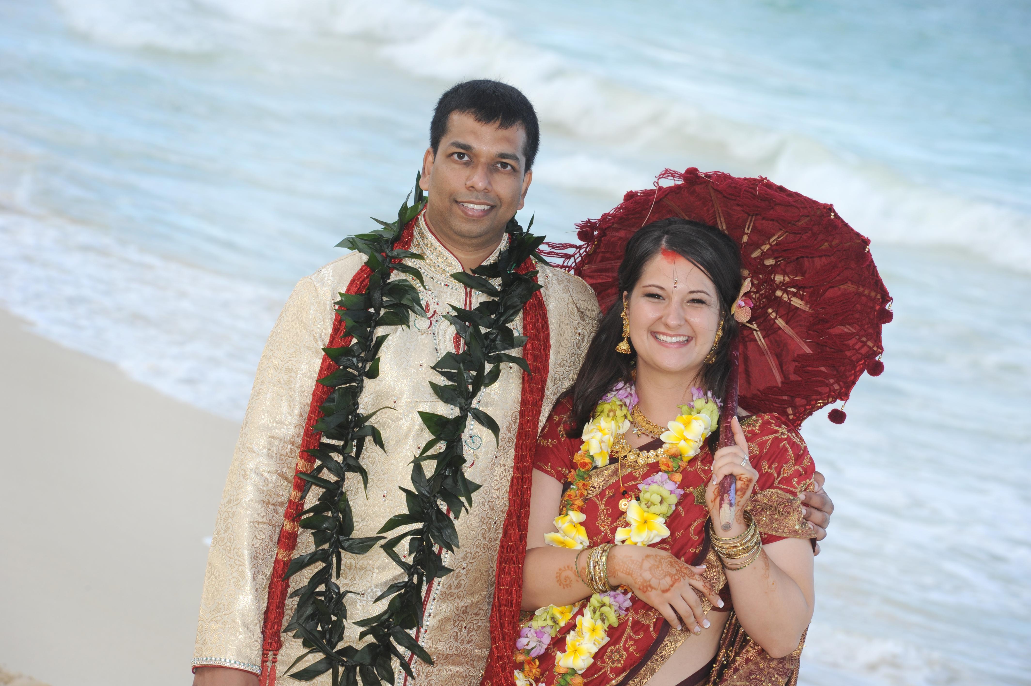 Hawaiian Indian Wedding Ceremony -42