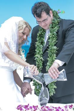 Sand wedding ceremony-3