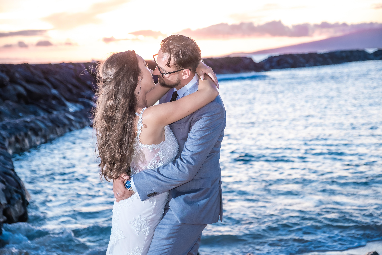 Magic island Hawaii beach wedding -31