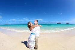 Lanikai beach wedding photos-16