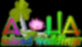 Lotus Hawaii wedding logo