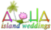 Alohaislandweddings logo