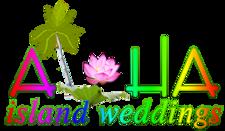 Lotus flowers - logo hawaii wdding