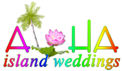 Hawaii wedding logo