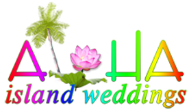 Lotus Hawaii wedding logo