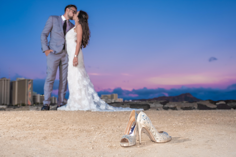 Magic island Hawaii beach wedding -18