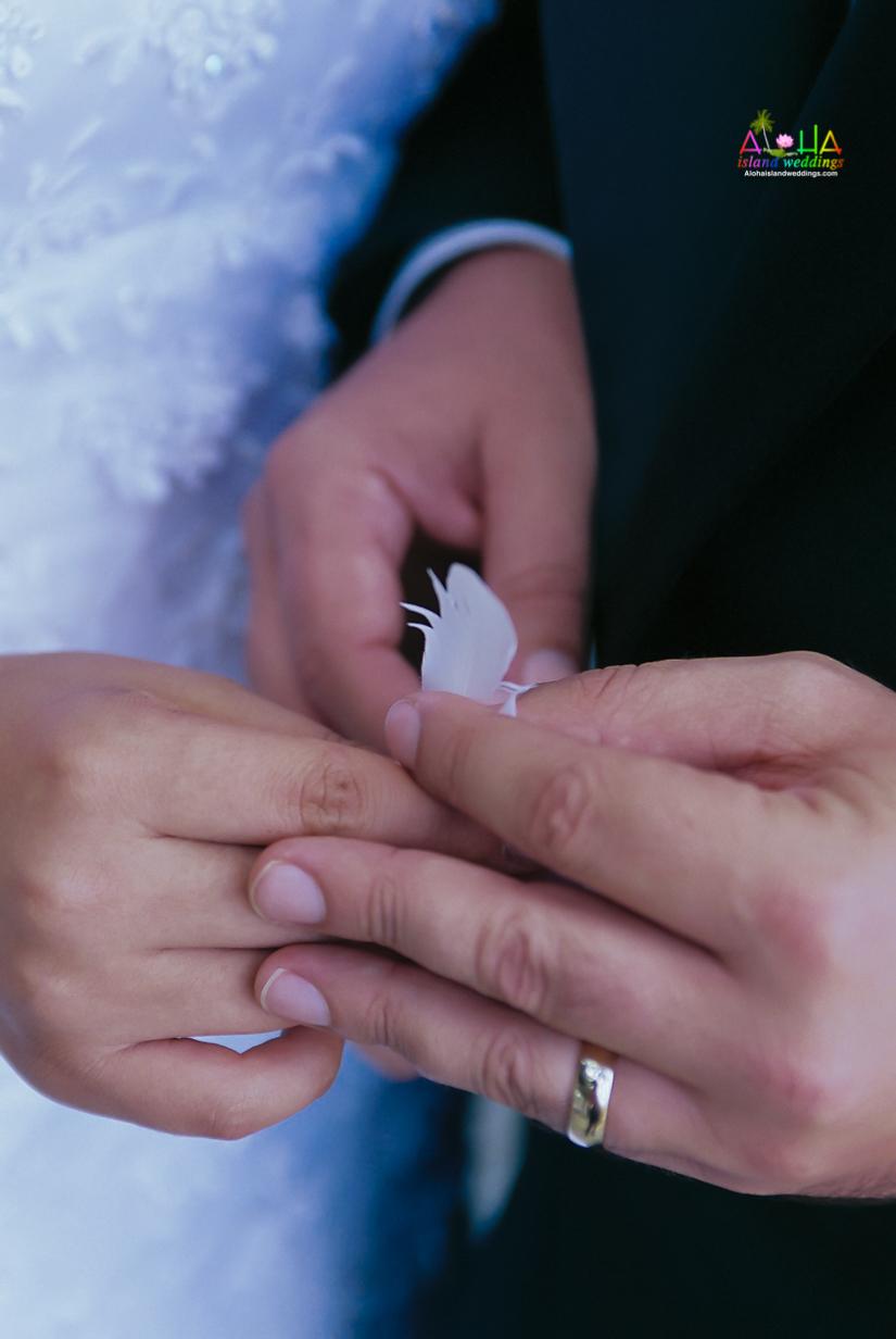 Dove Release wedding ceremony in Hawaii-9