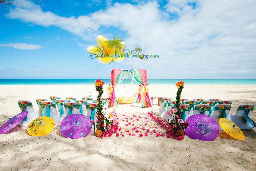 Indian Wedding on Oahu Hawaii