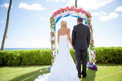 Hawaii wedding paradise cove 24