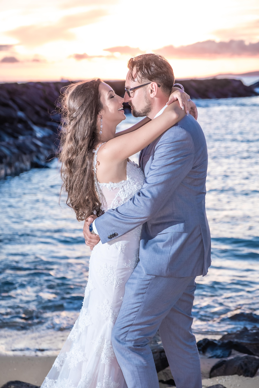 Magic island Hawaii beach wedding -2