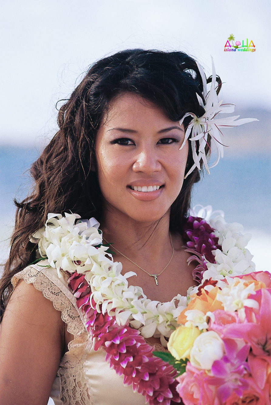 Beach wedding in Kailua-12