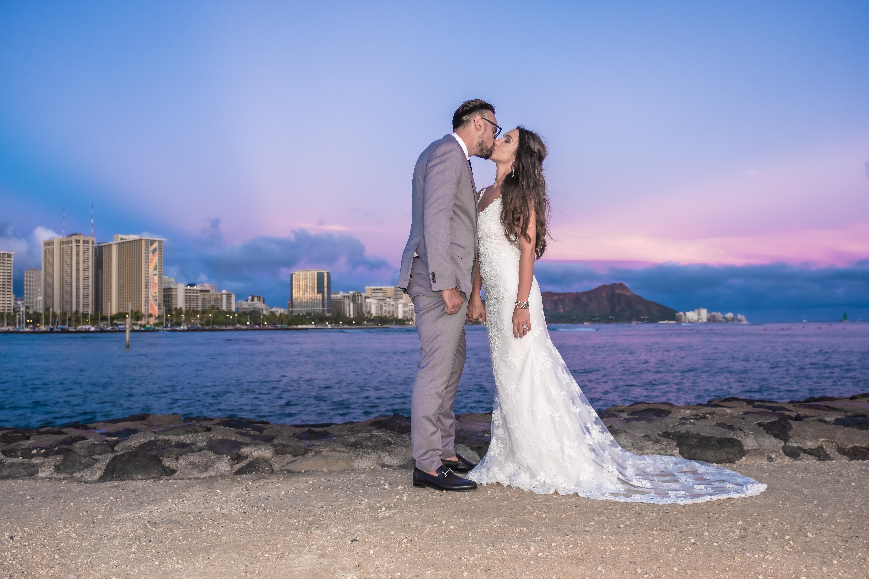 Magic island Hawaii beach wedding -9