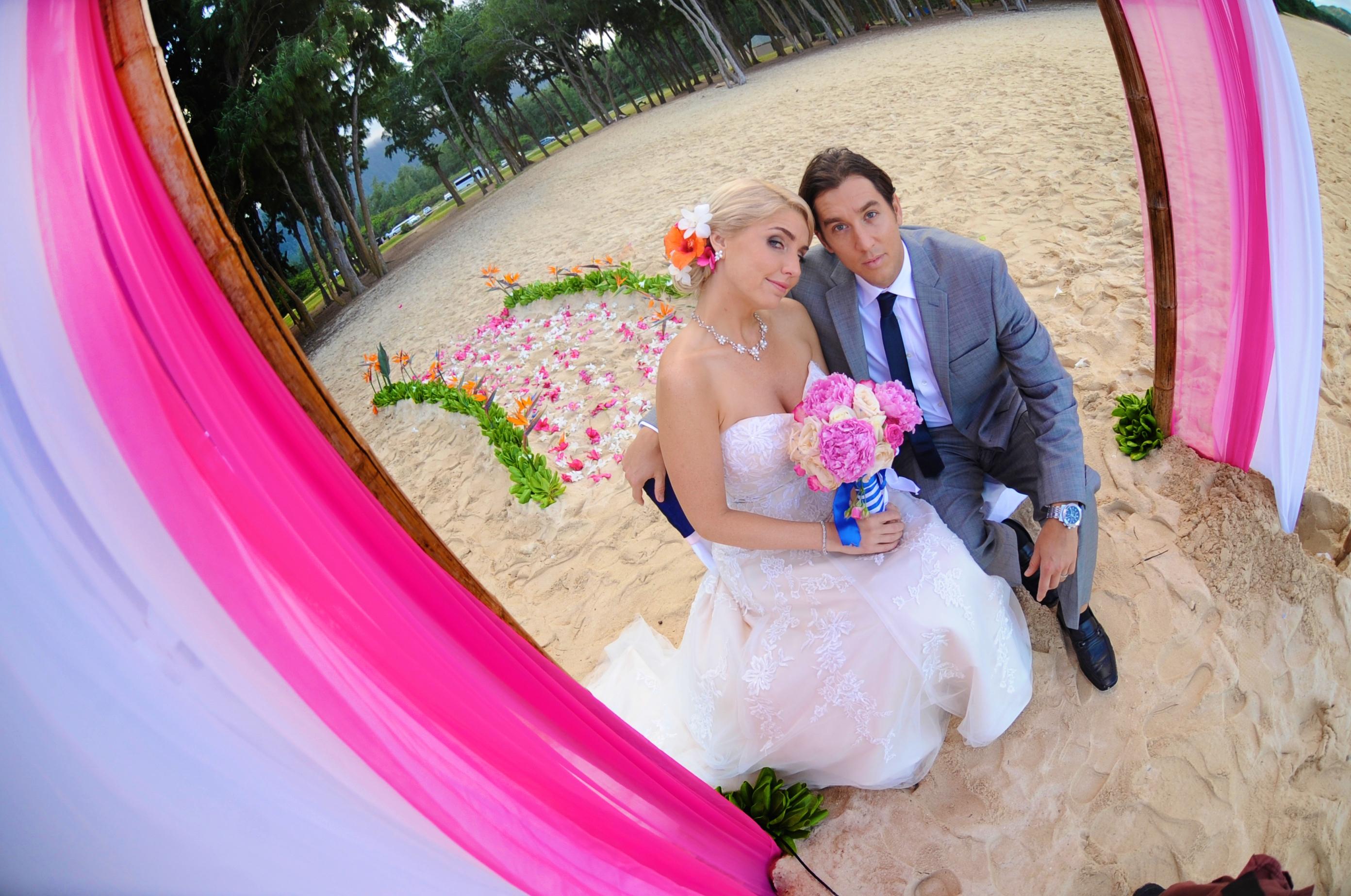 Chapel in the Sand Hawaii Wedding 8