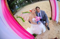 wedding In Hawaii with beautifull bride-40