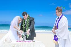 Sand wedding ceremony-6
