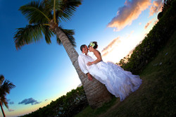 Sunset hawaii Wedding Picture -8