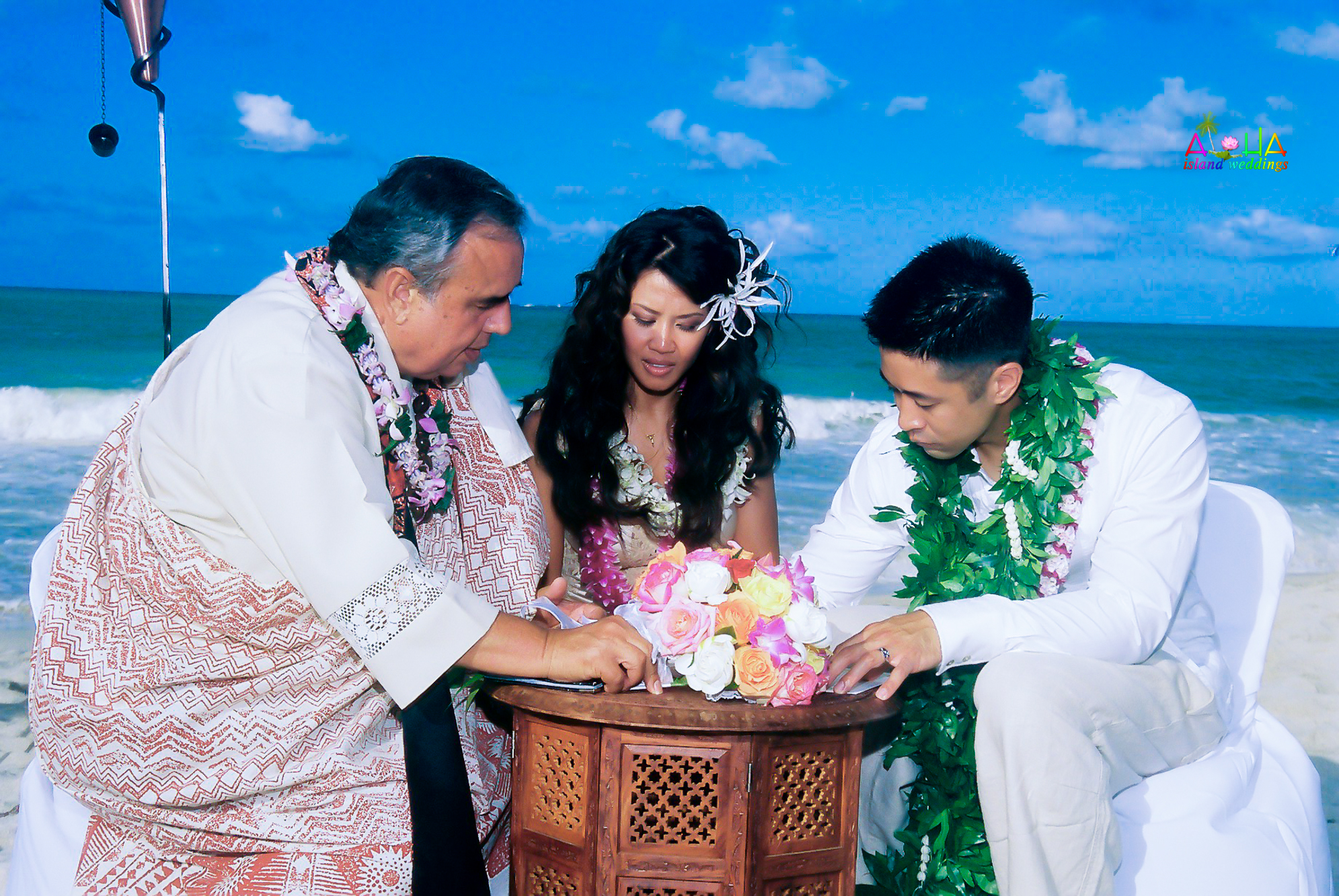 Beach wedding in Kailua-129