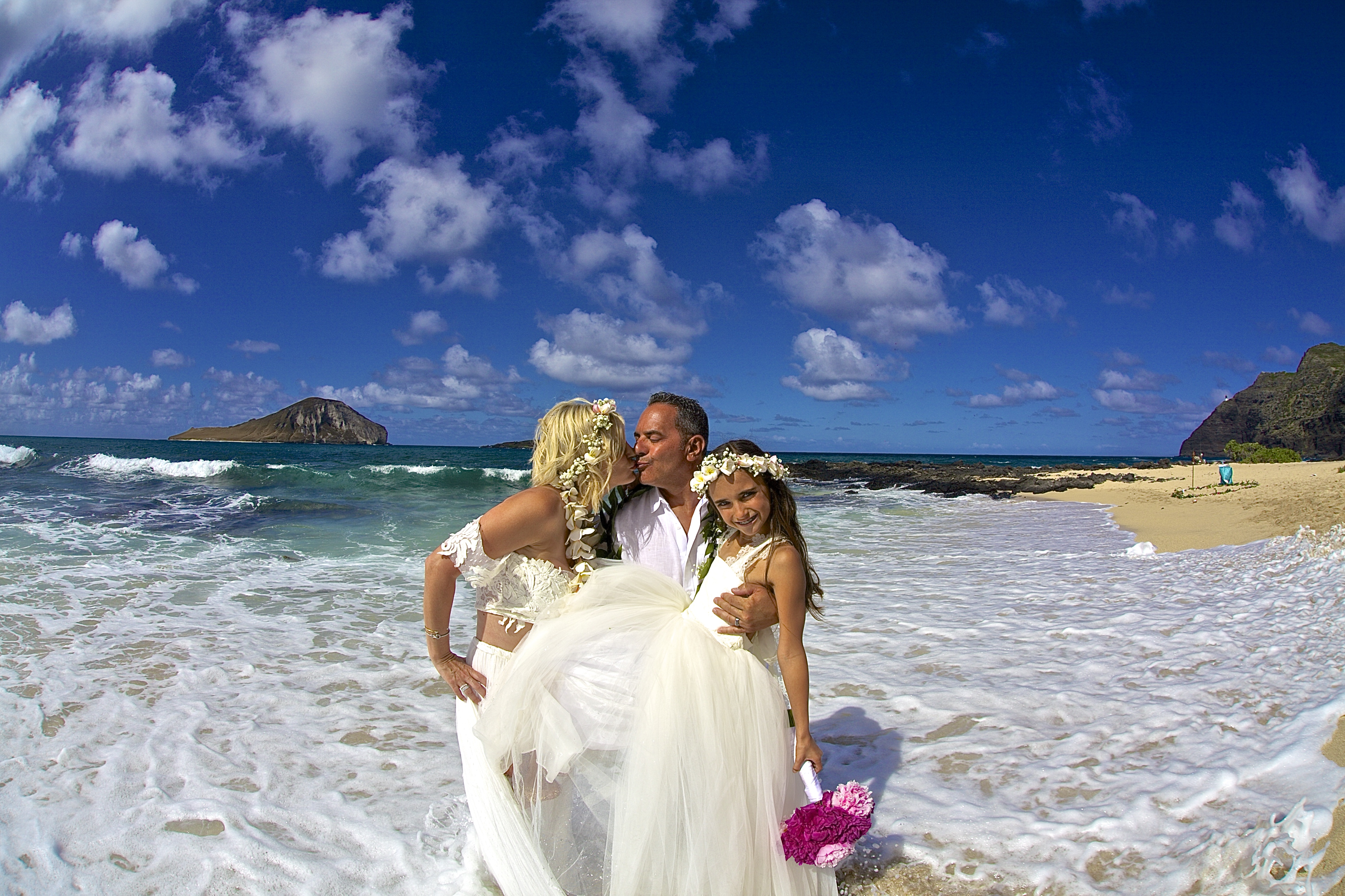 Vow Renewal in Hawaii -59