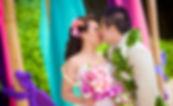Wedding photos at Kahala Hotel & Resort, The Royal Hawaiian