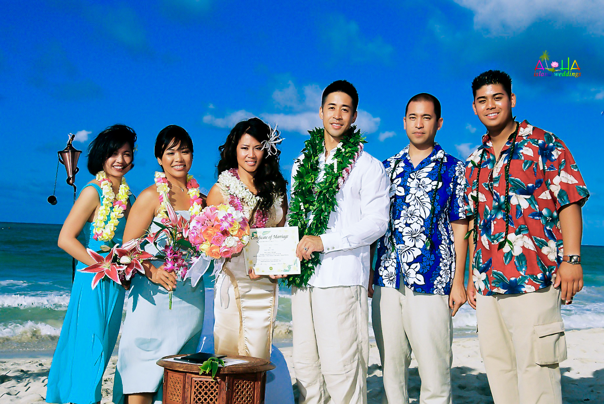 Beach wedding in Kailua-126