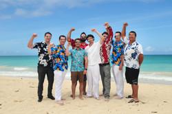 Hawaii beach wedding - lotus car 34