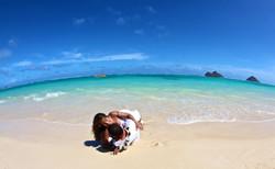 Lanikai beach wedding photos-8