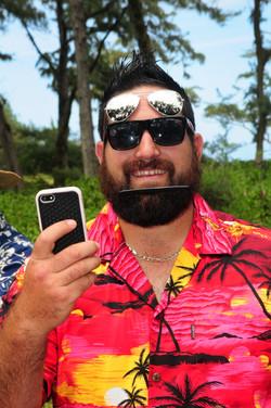 Hawaii beach wedding - lotus car 36