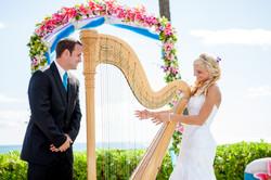 Harpist in Hawaii 6