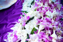 flowers with white wedding Arch  5