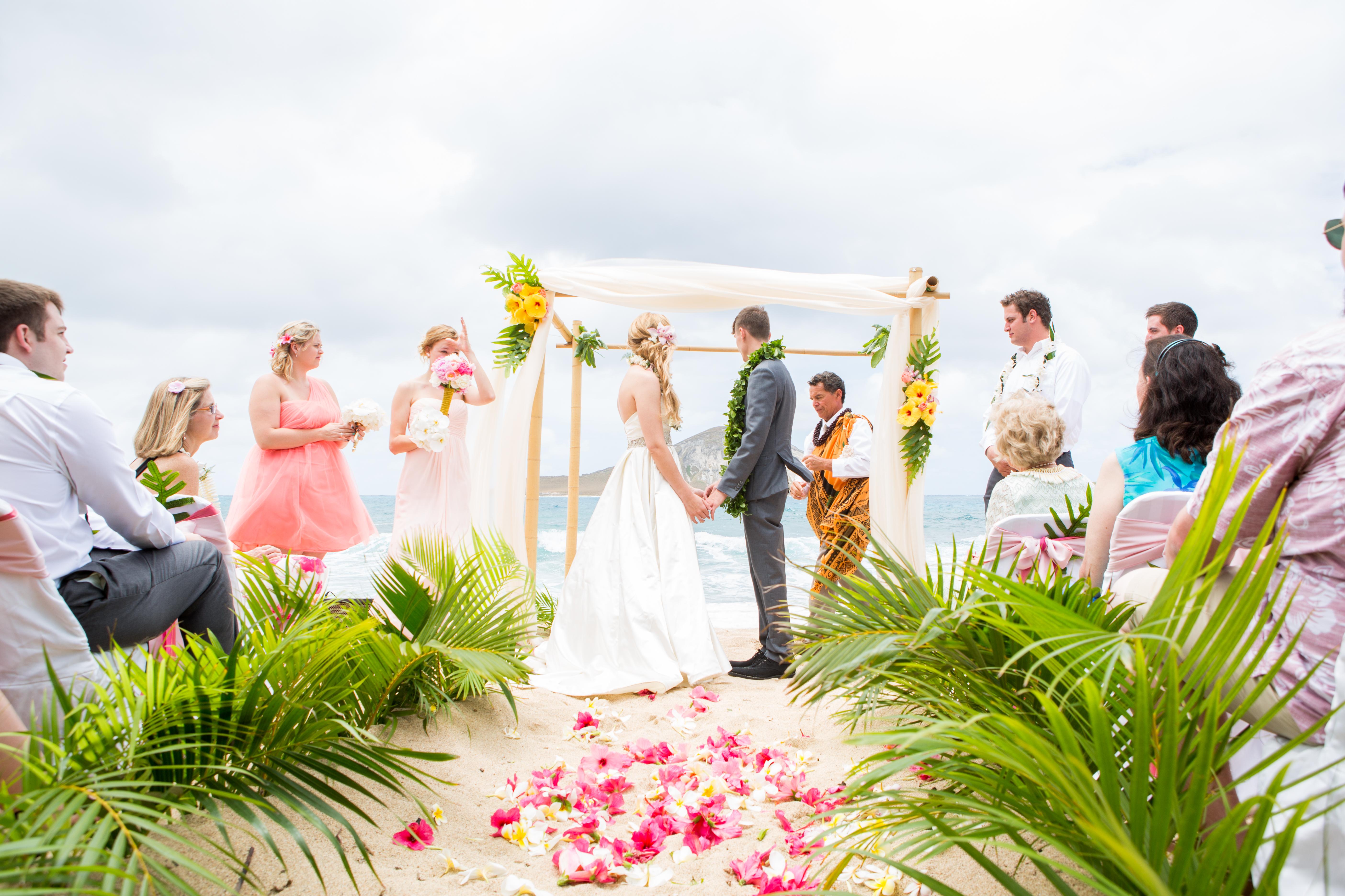 Hawaiian Wedding Ceremony -40